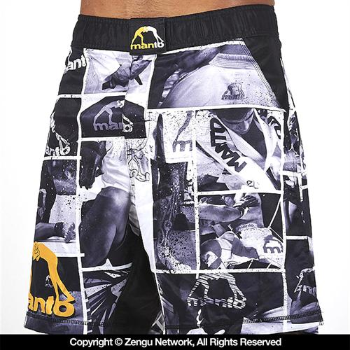 Manto Manto Photo Pattern Fight Shorts